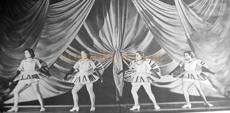 Summer Show Dancers at the Inverness Empire Theatre - From the Theatre's Final Night Programme in November 1970 - Courtesy Derek Mathieson.