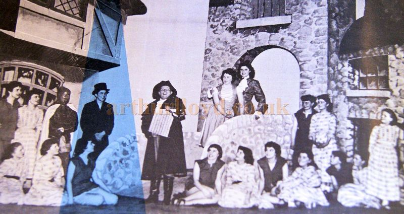 The Cast of Dick Whittington at the Inverness Empire Theatre - From the Theatre's Final Night Programme in November 1970 - Courtesy Derek Mathieson.