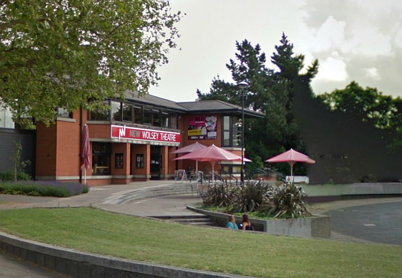 A Google StreetView Image of the New Wosley Theatre, Ipswich - Click to Interact