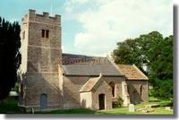 The Church at Keinton Mandeville, Glastonbury, Somerset, the village where Henry Irving was born.
