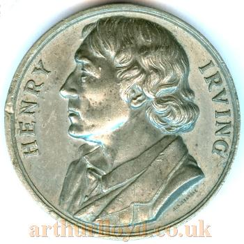 A Medal issued on Henry Irving's death - Courtesy Alan Judd