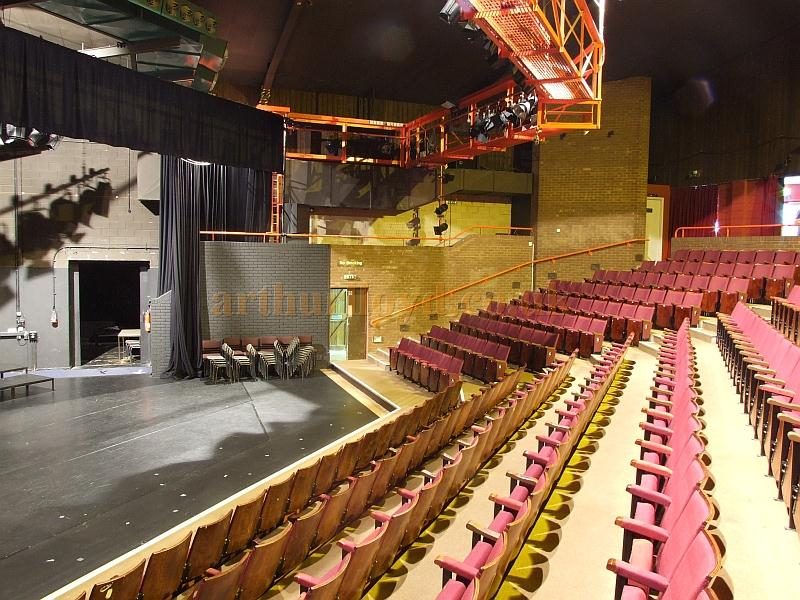 The stage and auditorium of the Madina Theatre, Isle of Wight, in 2009 - Courtesy Mark Price - Theatres Trust