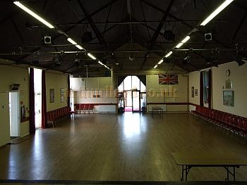 The Auditorium of the Memorial Hall, Isle of Wight, in 2009 - Courtesy Mark Price - Theatres Trust.