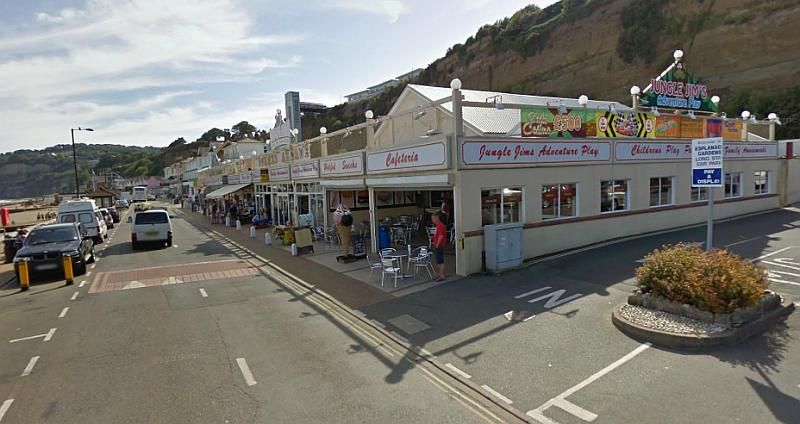 A Google Streetview image of the former Summer Theatre, Shanklin, Isle of Wight