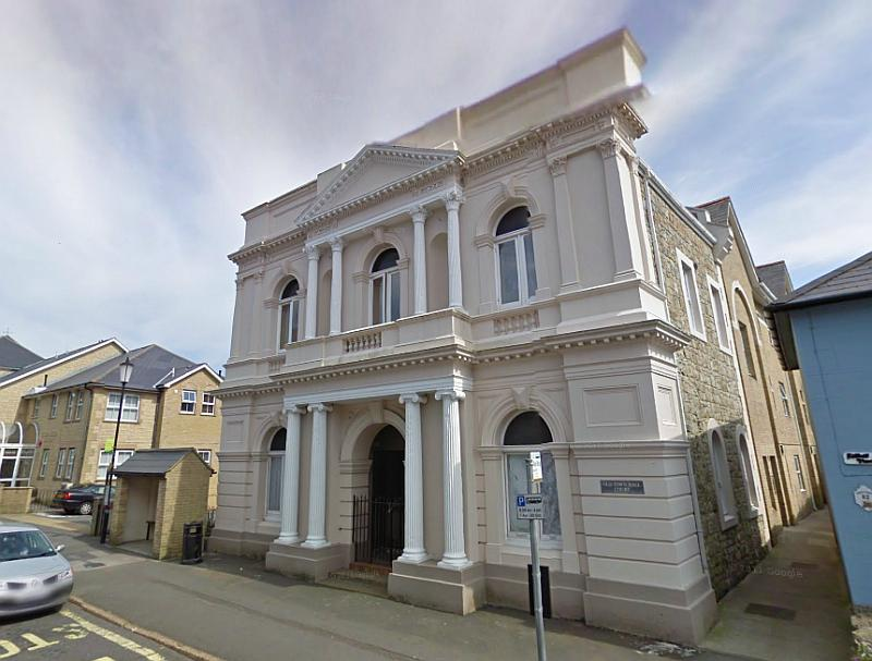 A Google Streetview image of the former Ventnor Theatre, Isle of Wight - Click to Interact