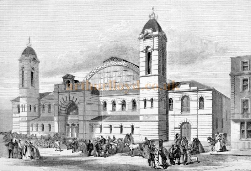 The New Agricultural Hall, Islington - From the Building News and Engineering Journal, December 5th 1862.