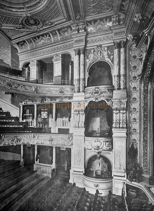 The auditorium of the Kennington Theatre - From the Arthurian Annual of 1904 - Kindly donated by Shirley Cowdrill.