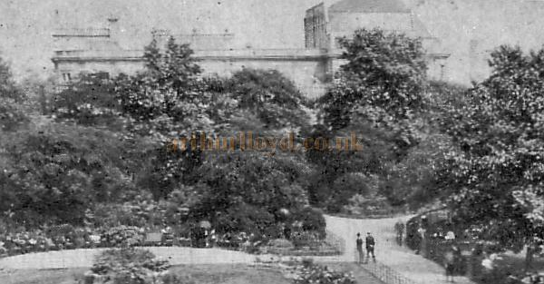 The Kennington Theatre from Kennington Gardens - From a postcard sent in 1903