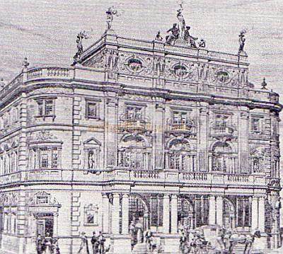 The Kennington Theatre - From 'The Builder' of 1899.
