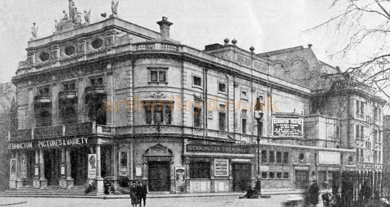 The Kennington Theatre during its Cine Variety years - From 'Picture Play Magazine' November 1923.