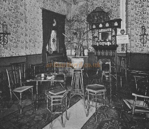"The ""Geisha"" Tea Room of the Kennington Theatre - From The Playgoer of 1902 - Courtesy Iain Wotherspoon."