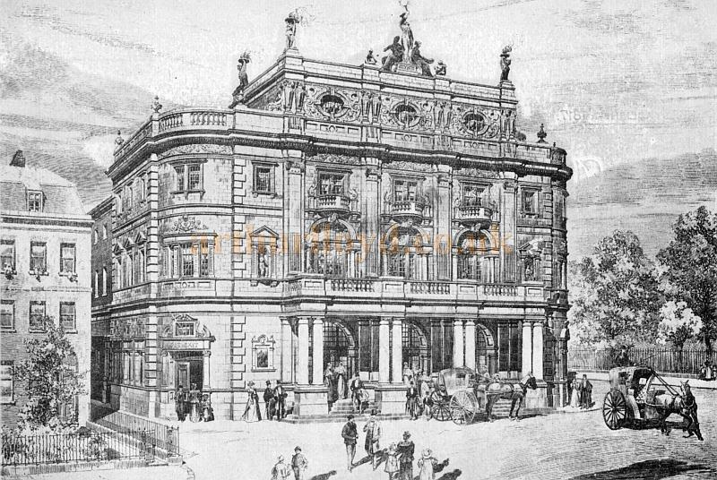 The Kennington Theatre - From the Arthurian Annual of 1904 - Kindly donated by Shirley Cowdrill.