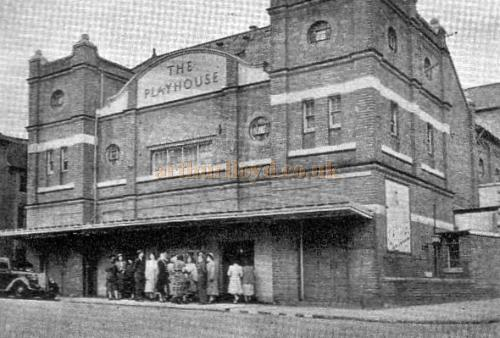 The Playhouse, Kidderminster in 1951 - From a Programme for the Playhouse Theatre November 19th 1951 - Courtesy The Margaret & Brian Knight Collection.