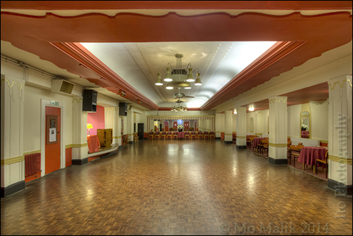 The former Tea Rooms of the Regal Cinema, Kingston, today home to the Kingston Dance Studio - Courtesy Mo Malik.