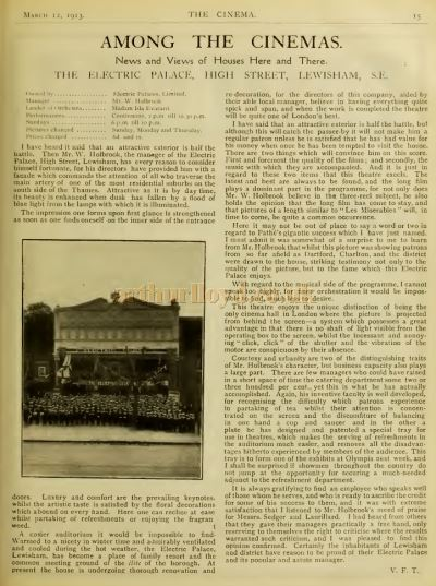The Cinema News and Property Gazette of March the 12th 1913