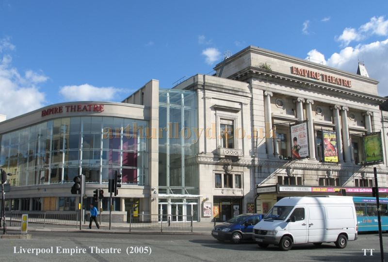 The Liverpool Empire Theatre 2005 - Courtesy Tony Thompson, Theatre Trustee.