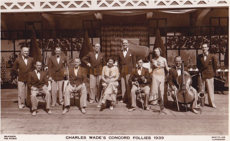 Charles Wade's Concord Follies of 1939 - Courtesy Dorothy Hawkes