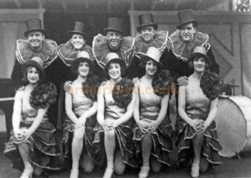 Roy Cowl's Queeries at the Happy Valley Theatre in 1930 - With Kind Permission Llandudno Library