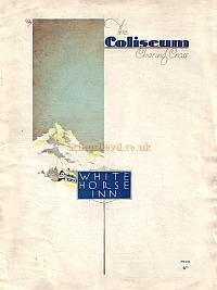 A programme for 'White Horse Inn' whilst at The London Coliseum in 1931 - Click to see  Programme.