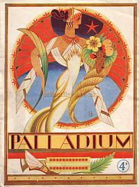 Variety Programme for the 31st of December 1928 at The London Palladium, directed by George Black.