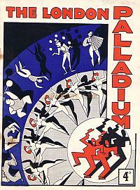 Variety Programme for the 6th of July 1936 at The London Palladium, directed by George Black.