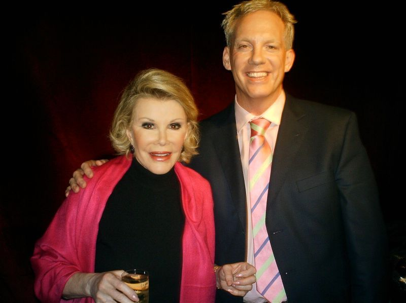 Joan Rivers and Neil Sean