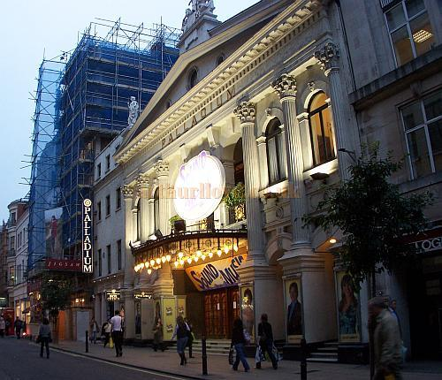 The London Palladium during production for 'The Sound Of Music' in October 2006 - Photo M.L.