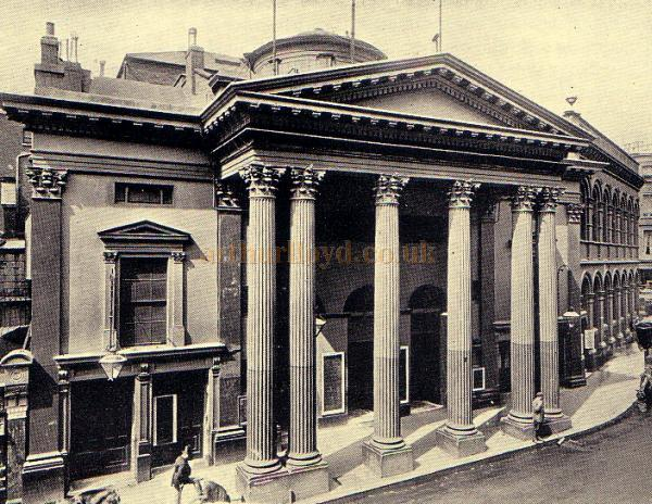 The Lyceum Theatre in 1891 - From a programme for John Gielgud's Production of 'Hamlet' June 28th - July 1st 1939.