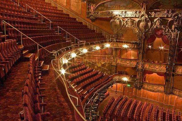 The Lyceum Theatre's 1996 restored Auditorium - Courtesy John Mann 08.