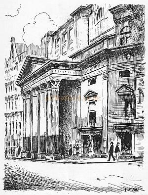 The Romance Of London Theatres By Ronald Mayes. -  No. 45. The Lyceum
