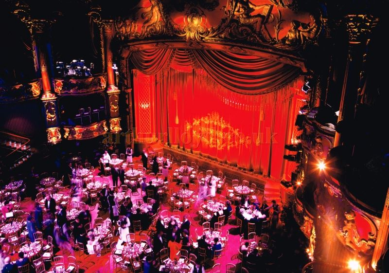 The Lyceum Theatre during its Mecca Ballroom Dining and Dancing Period - From the papers of the late Richard Brett - Courtesy Roger Fox.