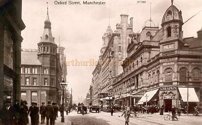 The Palace Theatre, Manchester - From a postcard
