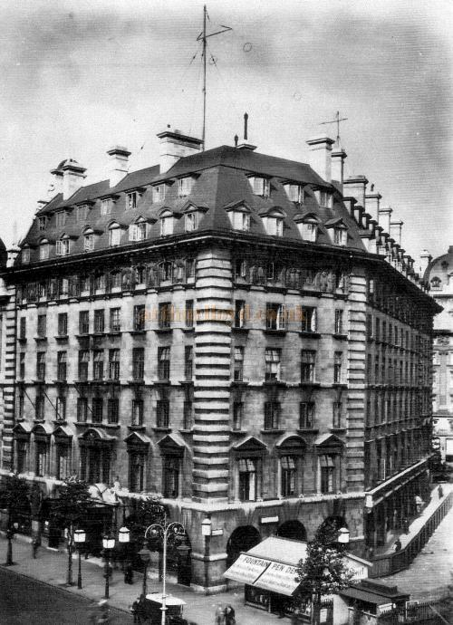 Marconi House in 1924 - Courtesy John A. Strubbe F.R.I.B.A. - Click for more internal and external views.