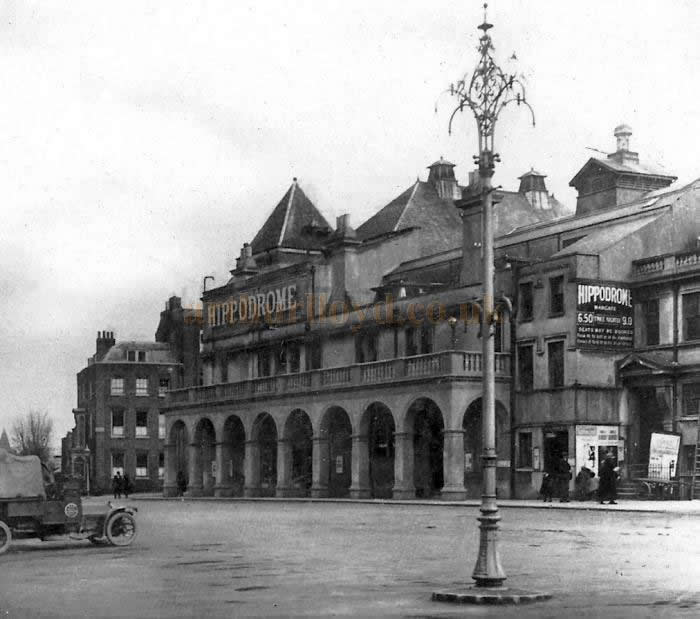 An early photograph of the Margate Hippodrome