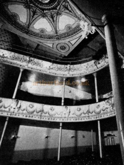 The Auditorium of the Theatre Royal, Margate - Theatre World, June 1962 - Courtesy Maurice Poole.