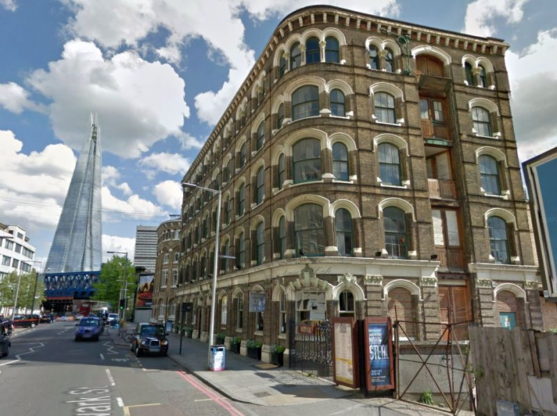 A Google StreetView Image of the Menier Chocolate Factory - Click to Interact
