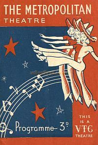 Programme for 'Stars of Radio' at the Metropolitan Theatre January 29th 1945 - Courtesy Alan Chudley.