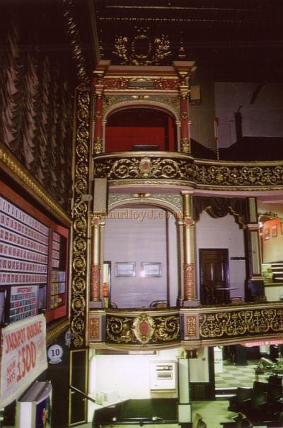 The auditorium of the Middlesbrough Empire in May 1989 - Courtesy Ted Bottle.