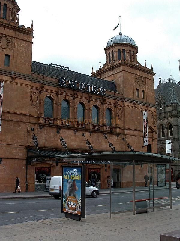 The Middlesbrough Empire Theatre in 2008 - Courtesy John West