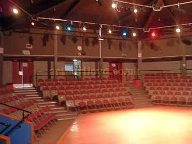 The Auditorium of the Hexagon Theatre, Middlesbrough - Courtesy David Lindsey, Manager of the Middlesbrough Theatre in 2015.