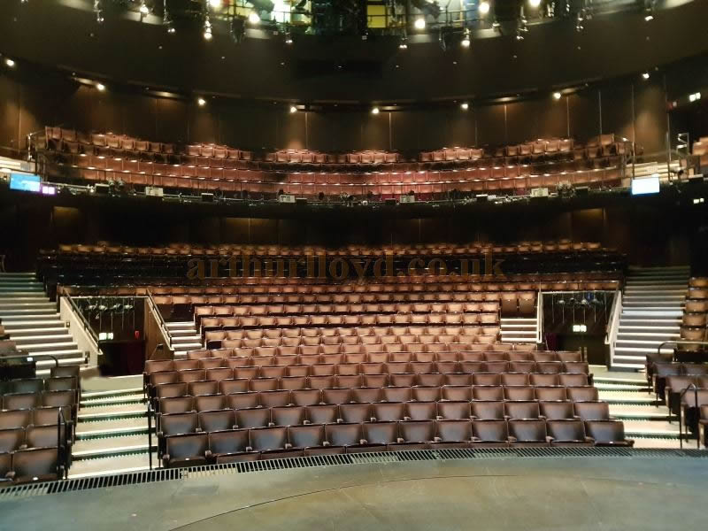 The Auditorium of the Gillian Lynne Theatre in December 2018 - Photo M.L.