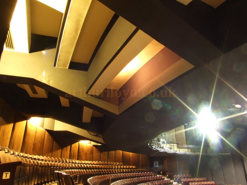The auditorium of the New London Theatre in 2008, today the Gillian Lynne Theatre - Courtesy Roger Fox.