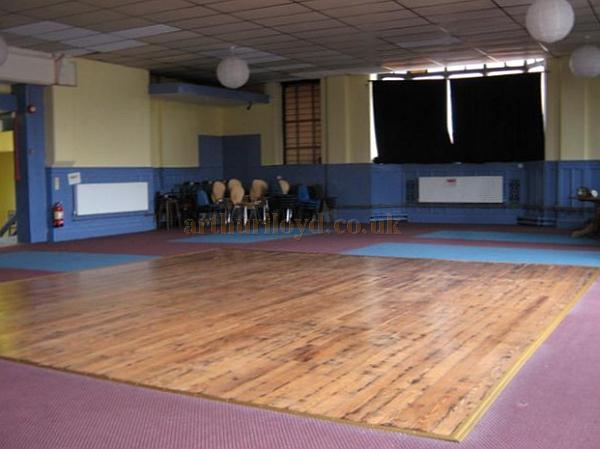 The Ground floor of the former Devonshire Hall in use as a home for More Music, Morecambe - Photo 2010 Courtesy KR.