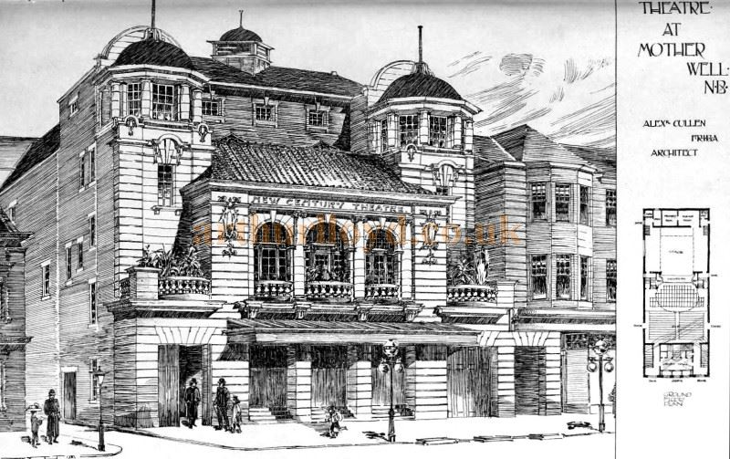 Motherwell's New Century Theatre - From 'The Building News and Engineering Journal' of August 30th 1901.