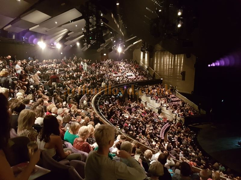 The Auditorium of the Olivier Theatre in September 2017  - Photo M.L.