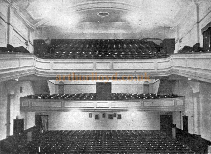 The Auditorium of the Majestic Theatre, Nelson - From the Supplement to the Cinema News and Property Gazette, 26th of November 1925.