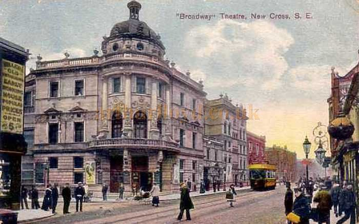 The Broadway Theatre, New Cross - Courtesy Andreas Praefcke