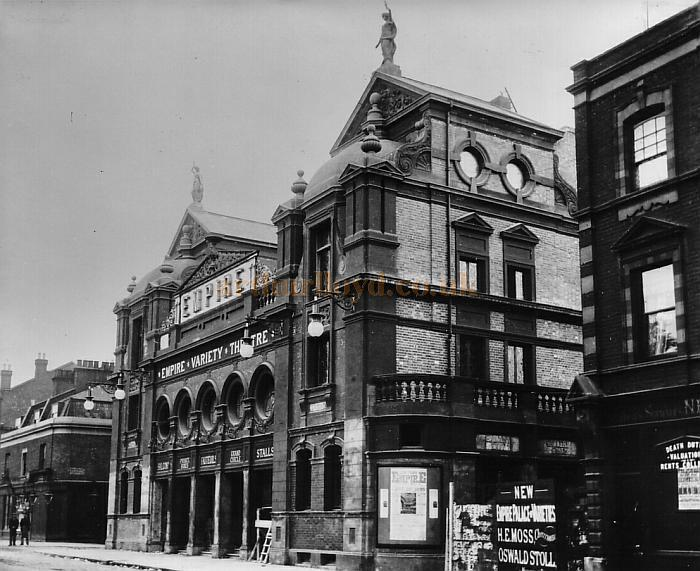 The New Cross Empire Theatre, London - Courtesy Peter Charlton