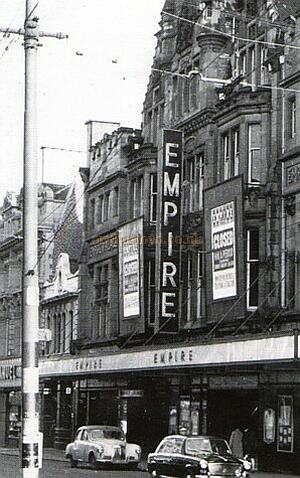 The Empire Theatre Newcastle - Courtesy Gareth Price. Click for details of this Theatre.