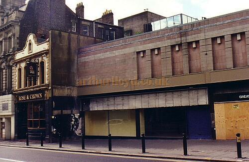 Site of Moss's Empire Palace in 2003 - Courtesy Gareth Price.